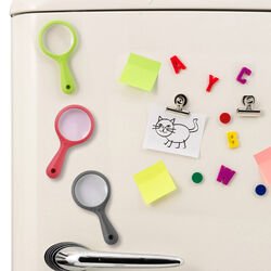 Lente d'ingrandimento magnetica per frigorifero,, , large