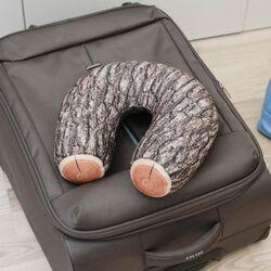 Cuscino tronco da viaggio per il collo, , large