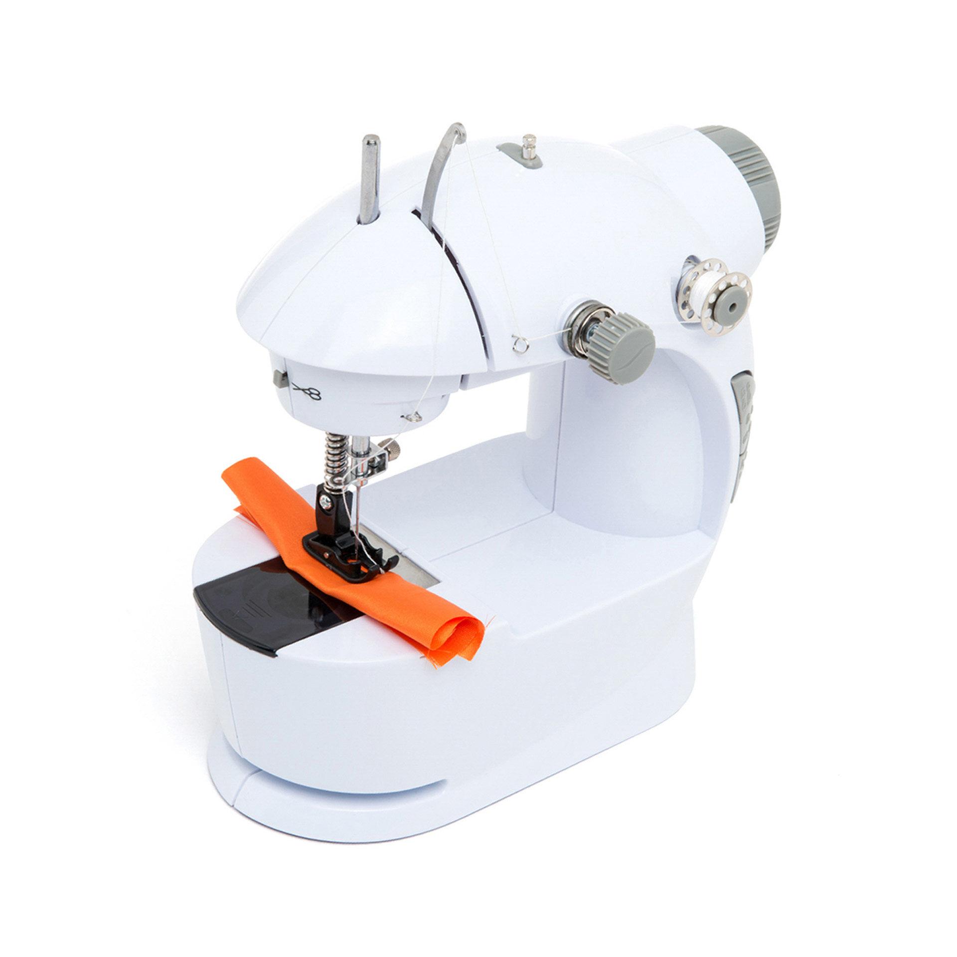Machine à coudre portable avec pédale et accessoires, , large
