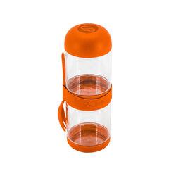 Contenitore porta macedonia 2 scomparti - Colore arancione, arancione, large