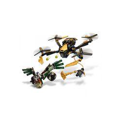 LEGO Marvel Duello Con Il Drone Di Spider-Man, Giocattoli Bambini 7 Anni e Più, 76195, , large