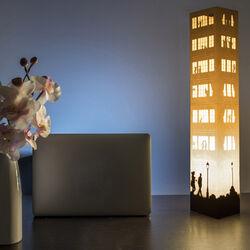 Maxi lampada in carta W-Lamp, , large
