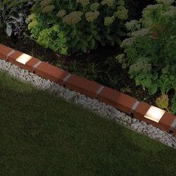 Lumina: bordura effetto terracotta con pannelli solari, , large