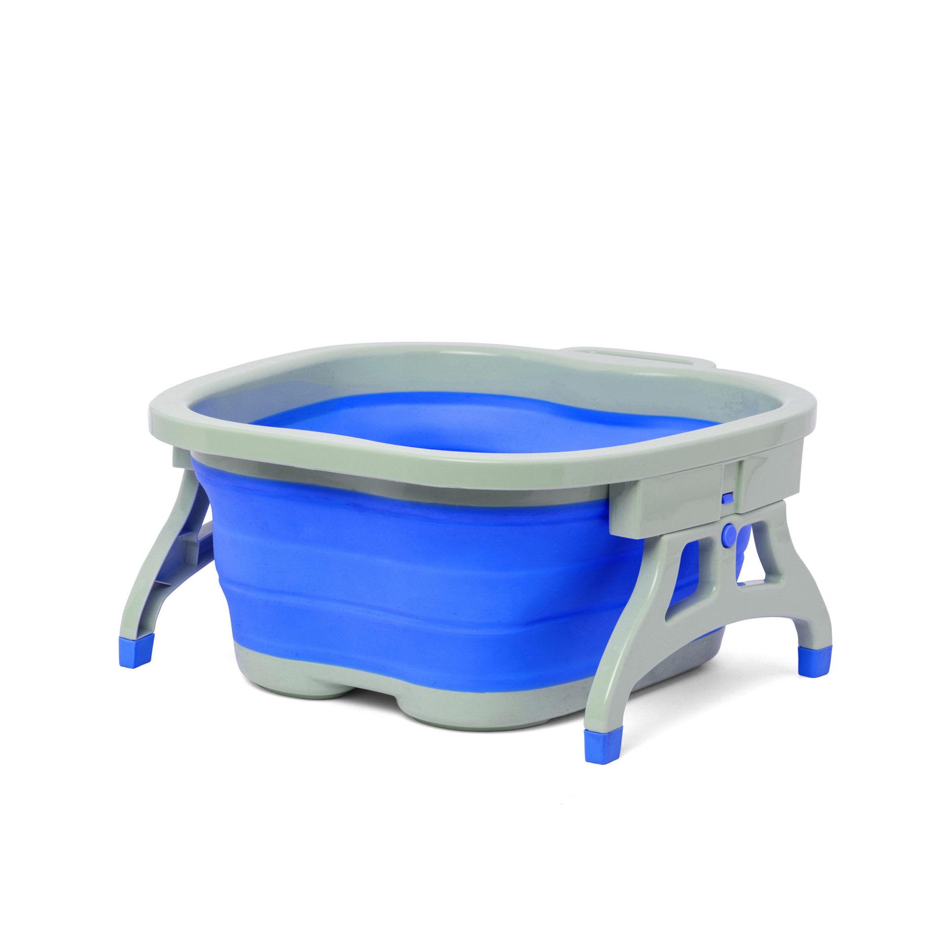 Petite bassine pliante pour bain de pieds, , large