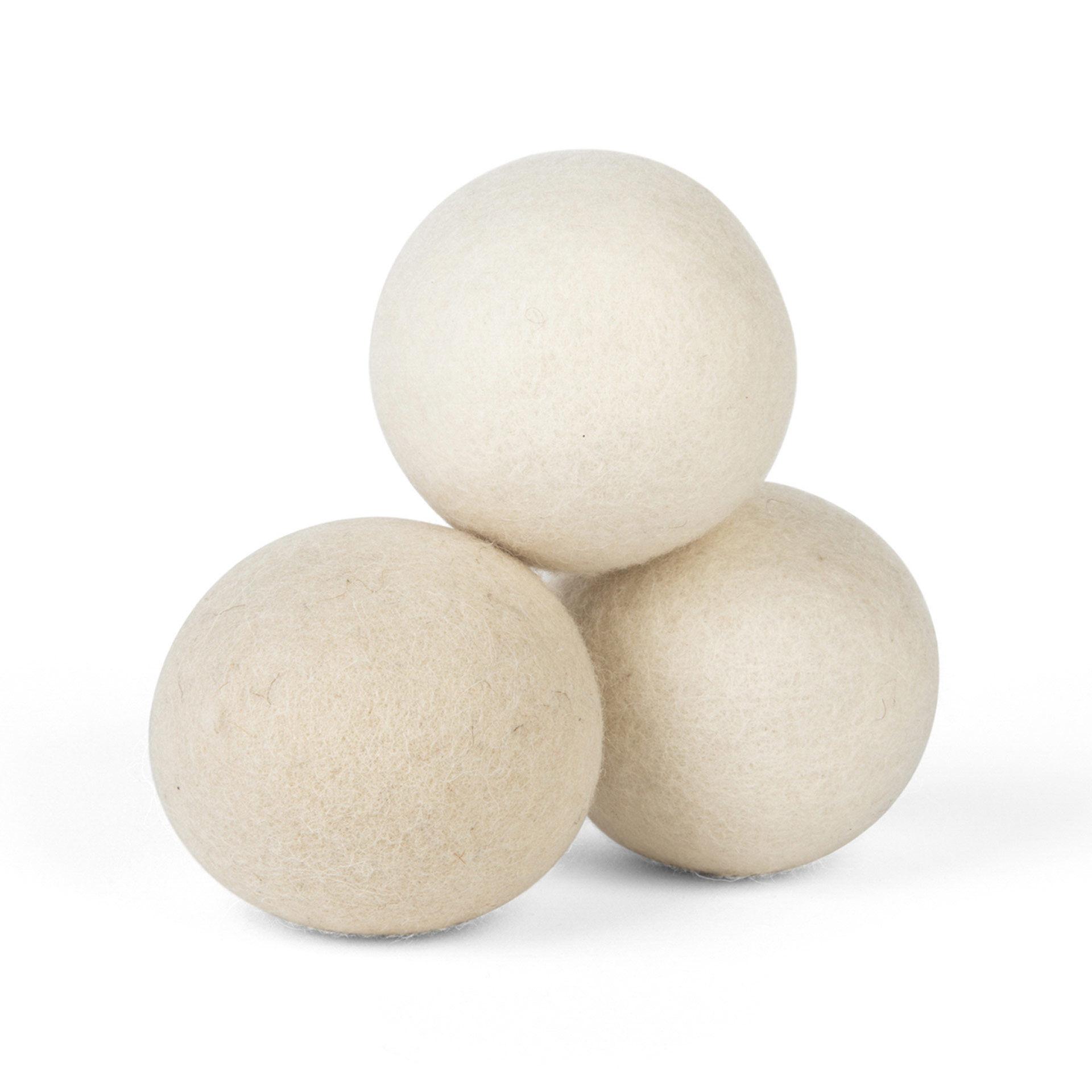 Boule écologique en laine pour sèche-linge - Lot de 3 Pièces, , large