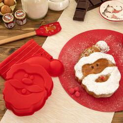 Stampo in silicone per dolci a forma di Babbo Natale, , large