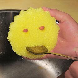 Spugne abrasive Smile, set 2 pezzi, , large