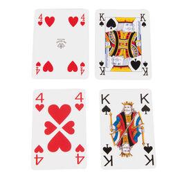Carte da gioco con numeri grandi, , large