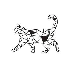 HOMEMANIA Decorazione da Parete Gatto, , large