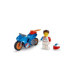 LEGO City Stuntz Stunt Bike Razzo, Set con Moto Giocattolo con Meccanismo a Spin 60298, , large
