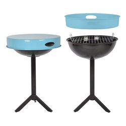Tavolino/vassoio con barbecue, , large