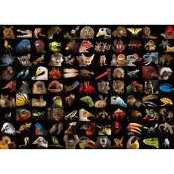 Ravensburger Puzzle 1000 pezzi 15983 - 99 Splendidi animali, , large