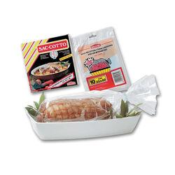 Set 10 sacchi per cottura in forno e in microonde, , large