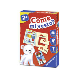 Ravensburger Gioco Educativo 24105 - Come mi vesto?, , large