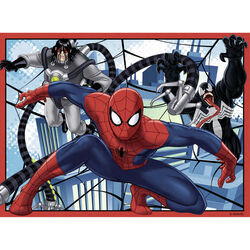 Ravensburger Puzzle 4 in 1 07363 - Ultimate Spiderman, , large