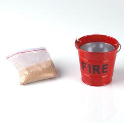 Posacenere secchiello antincendio, , large