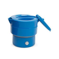 Bollitore elettrico pieghevole, blu, blu, large