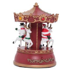 Carillon natalizio con musica e luci, , large