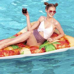 Materassino gonfiabile pizza, , large