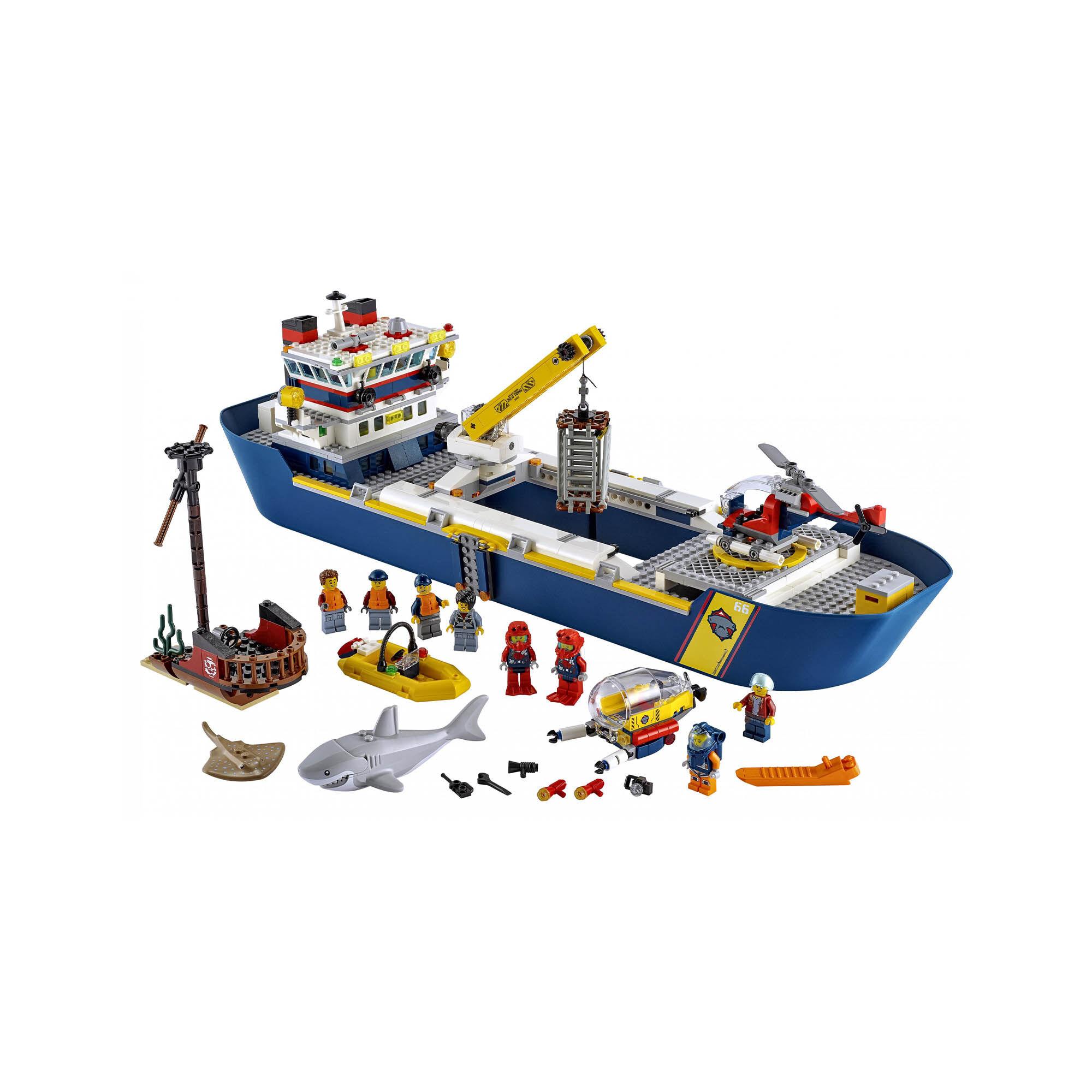 Le bateau d'exploration océanique 60266, , large