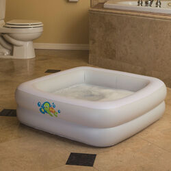 Piscina gonfiabile bagnetto baby, , large