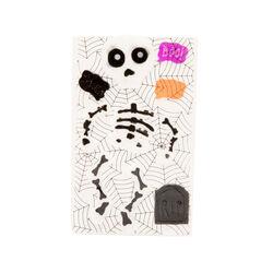 Vetrofania Halloween - Scheletro, , large