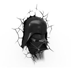 Lampada da parete Star Wars Darth Vader, , large