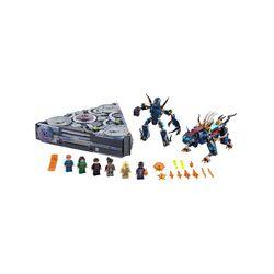 LEGO Marvel L'Ascesa di Domo, Navicella Spaziale dal Film sugli Eterni con Mini 76156, , large