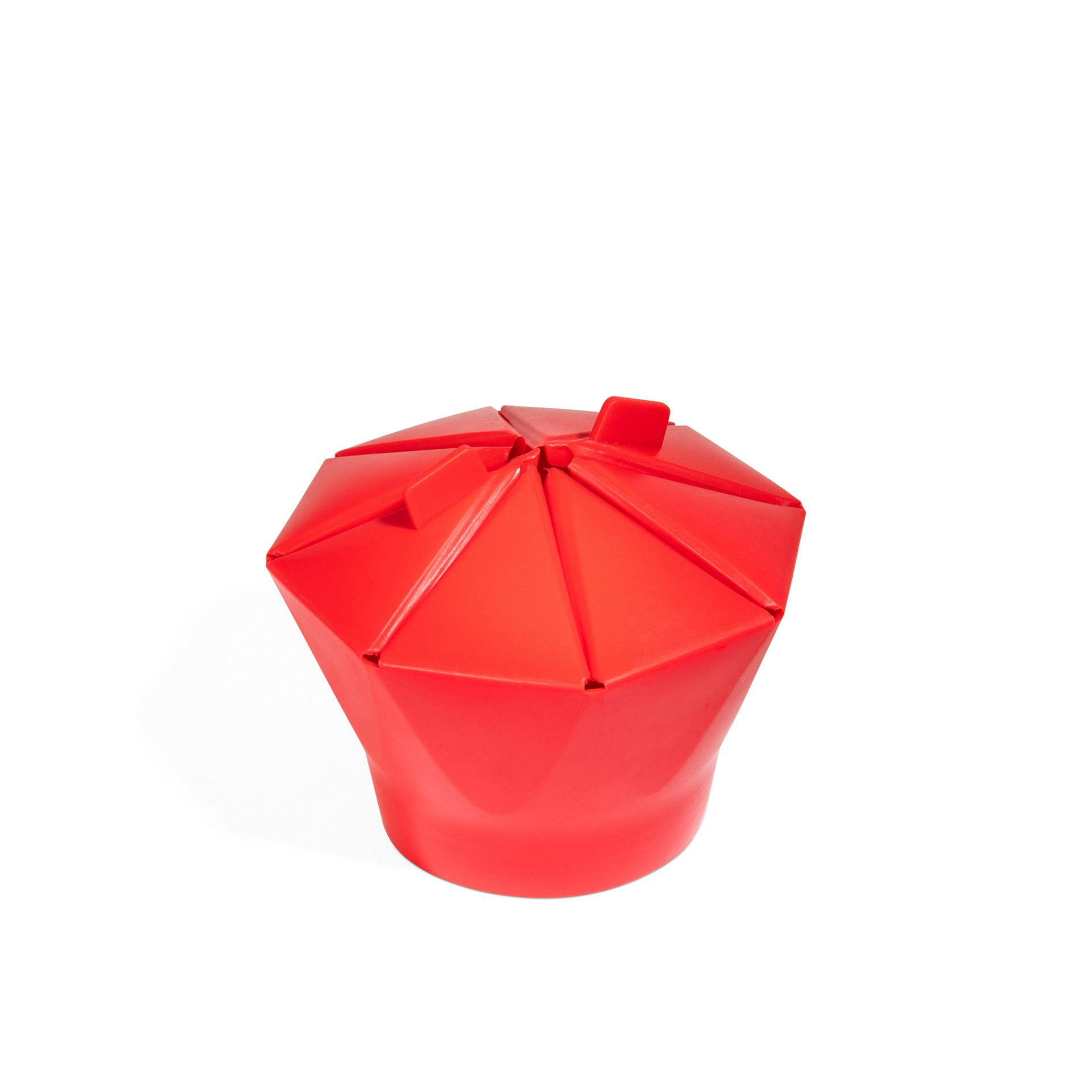 Cuiseur de pop corn en silicone pour micro-ondes, , large