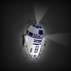 Lampada da parete Star Wars R2-D2, , large