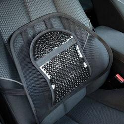 Schienale ergonomico per sedie e sedile auto, , large