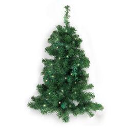 Albero di Natale da parete con luci LED e timer, , large