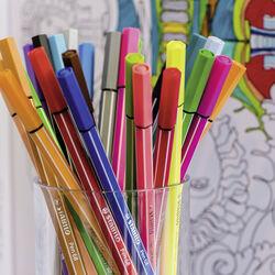 Scatola in metallo 40 colori STABILO Pen 68, , large