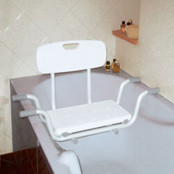 Sedile con schienale per vasca, , large