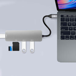 Adattatore multiporta USB-C ProHub, , large