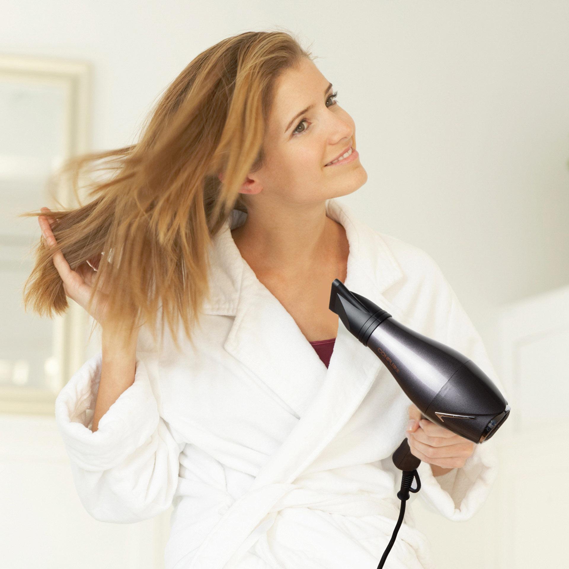 Sèche-cheveux professionnel 2300W, , large