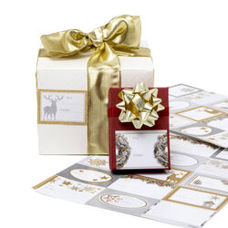 Etichette adesive natalizie - Set da 30 pz, , large