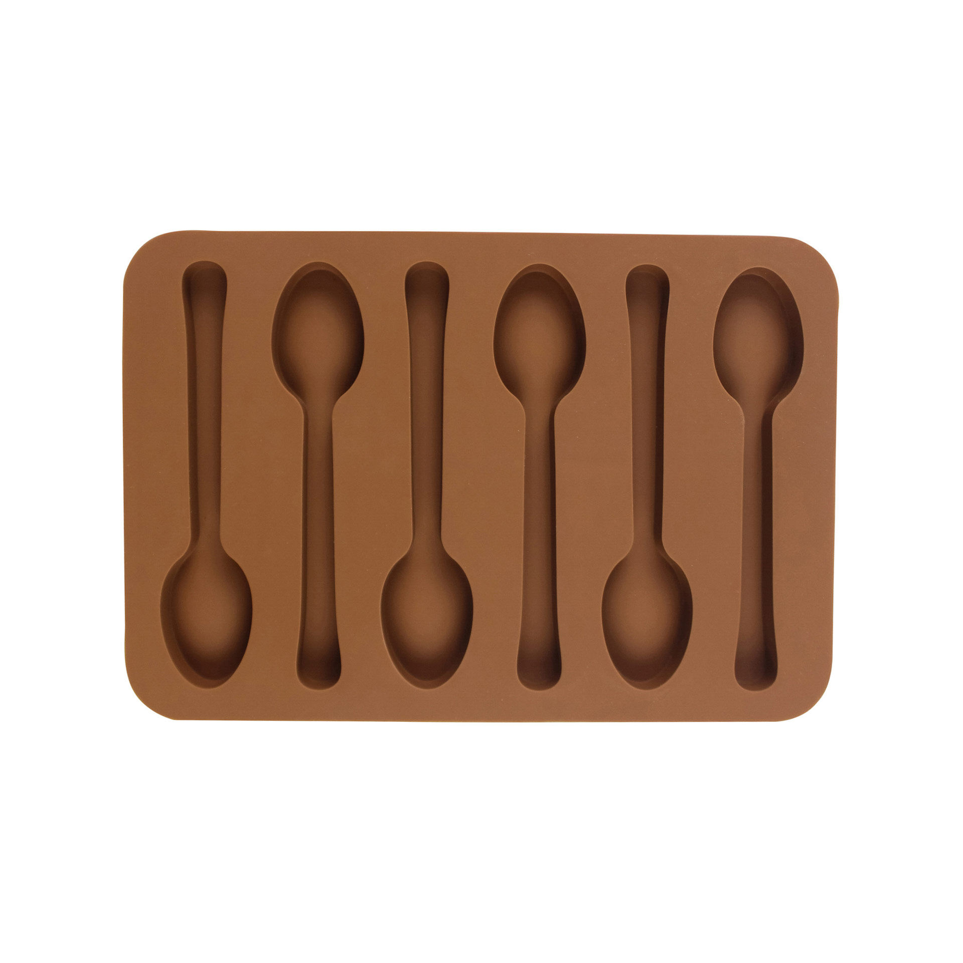 Moule à glace / chocolats en forme de petites cuillères, , large
