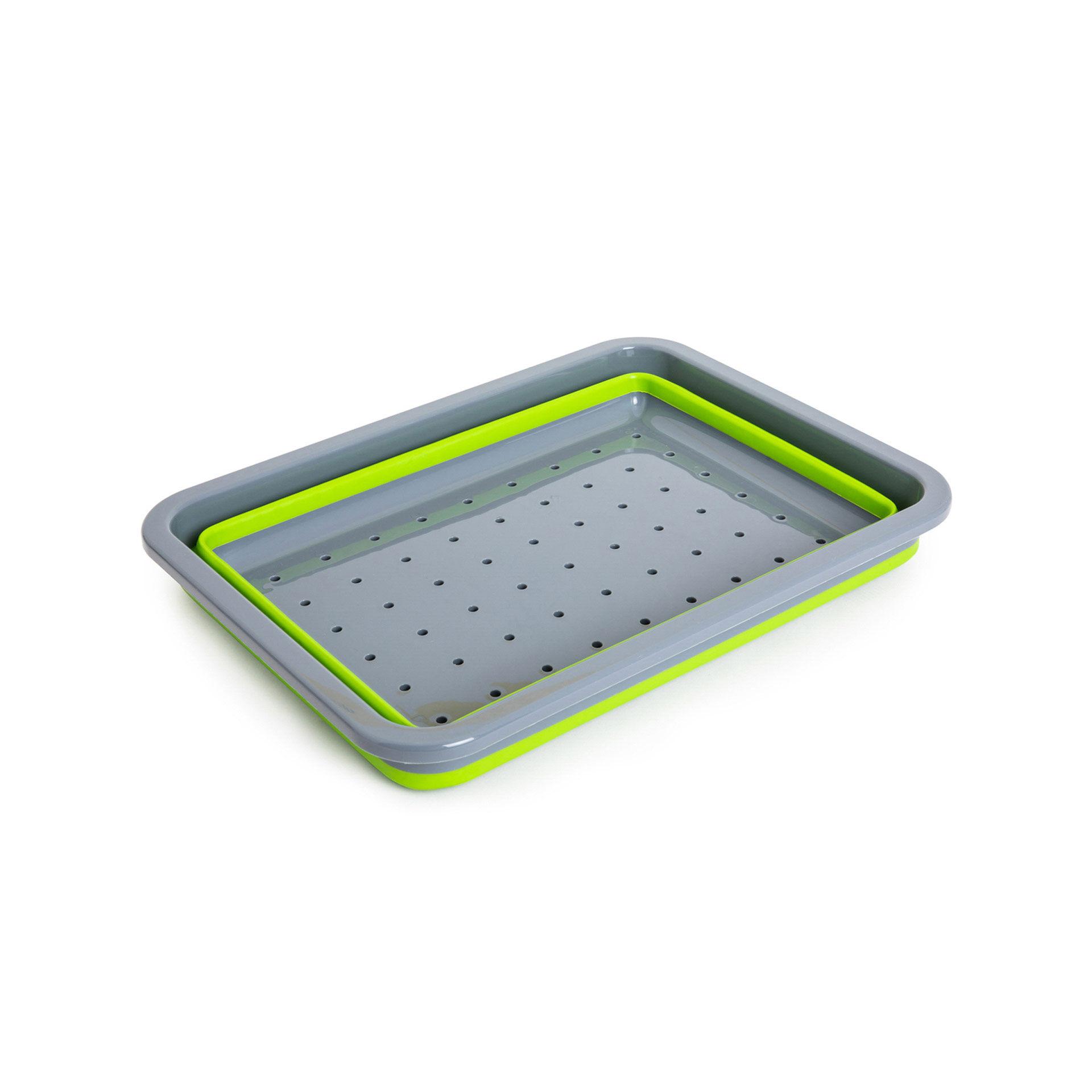 Égouttoir à vaisselle pliable modulaire, , large