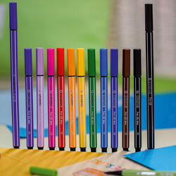 STABILO Pen 68 Mini Colorful Ideas - Lampadina con 12 Pen 68 Mini, , large