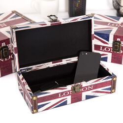 Scatole portaoggetti London - Set da 3 Pz, , large