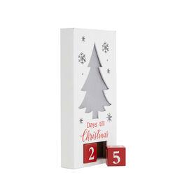 Countdown natalizio con luci, , large