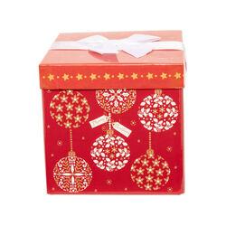 Scatola regalo bordeaux misura piccola, , large