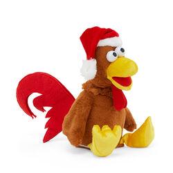 Peluche pollo musicale animato, , large