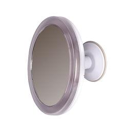 Specchio illuminato con ventosa, , large