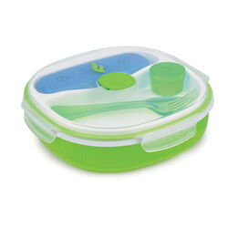 Contenitore lunch box per microonde - verde, , large