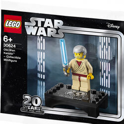 Minifigure da collezione - Obi-Wan Kenobi 30624, , large
