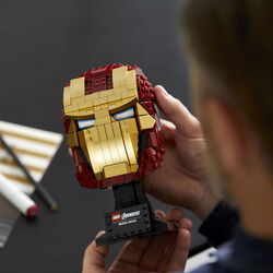 Casco di Iron Man 76165, , large