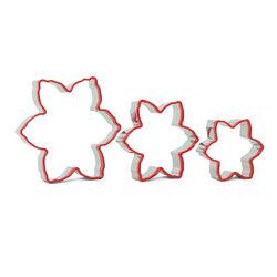 Stampi natalizi per biscotti a forma di stella di Natale, set di 3 pz, , large