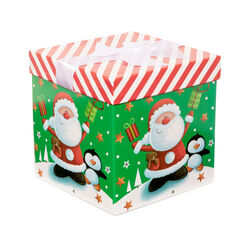 Scatola regalo Babbo Natale misura piccola, , large
